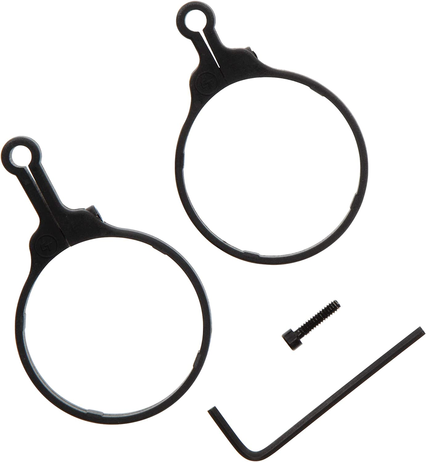 High Low Options and Solid Scope Fit for 3 Gun Crimson Trace Throw Levers with One Piece Design Shooting and Competition 2 Pack