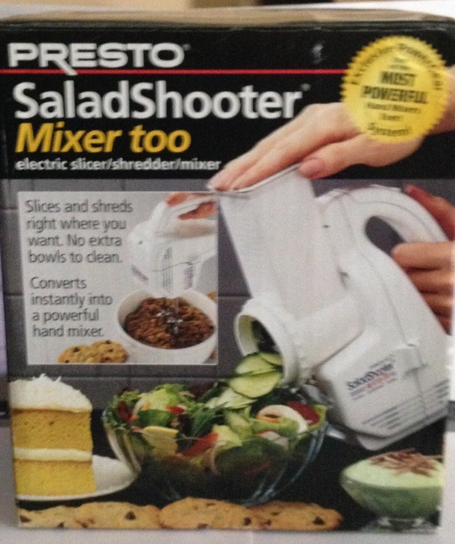 Presto Salad Shooter mixer slicer
