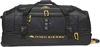 High Sierra Pathway 36-Inch Wheeled Drop-Bottom Duffel - Extra-large Rolling Duffel Bag with Wheels - Men's Wheeled Duffel Bag with Retractable Handle