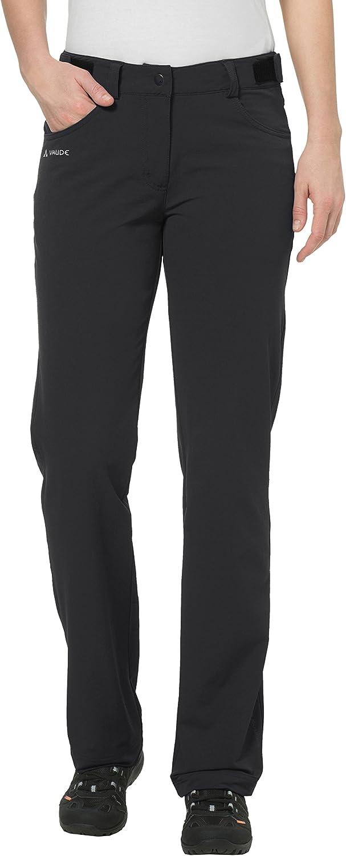 VAUDE Trenton II Softshell Pants Ladies Black