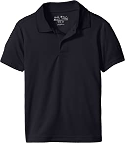 Nautica Kids Short Sleeve Performance Polo (Little Kids)
