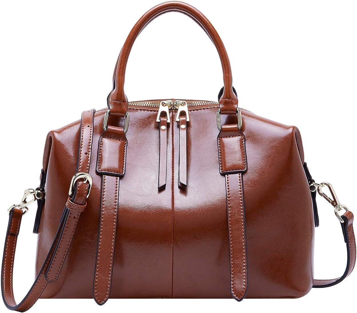 BOYATU Leather Handbag for Complete Free Shipping Cheap Women Satchel Bag Top Lad Handle Bags
