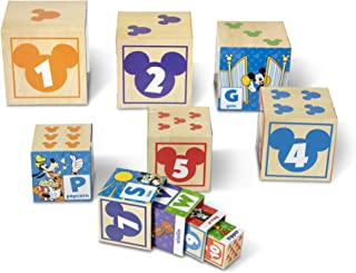 Melissa & Doug Disney Mickey & Friends Nesting & Stacking Blocks (10 Blocks, Great Gift for Girls and Boys - Best for 2, 3, 4 Year Olds and Up)
