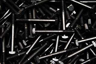 FT 5//16-18 x 3//4 Coarse Thread A307 Grade A Square Head Machine Bolt Low Carbon Steel Plain Finish Pk 2000