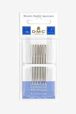DMC Chenille Hand Needles Size 18/22 (6-Pack)