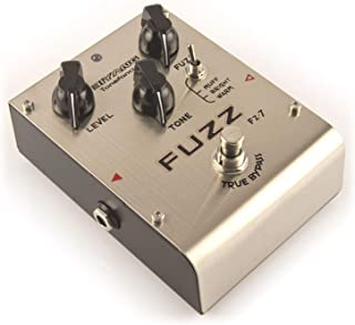 Biyang FZ-7 Fuzz Distortion Guitar Bass Effects Pedal with 3 Models True Bypass