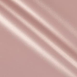 Ben Textiles Stretch L'Amour Satin Blush Pink Fabric By The Yard