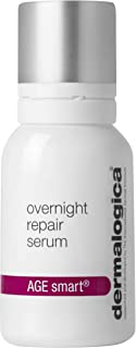 Dermalogica Overnight Repair Serum, 0.5 Fl Oz - Anti Aging Face Serum with Peptides, Argan Oil and Rose Oil to Promote Skin Repair