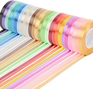 WELTOKE 26 Rolls Curling Ribbon Balloon String Roll Gift Wrapping Ribbon for Wrapping, Crafting, Wedding, Party, Festival,...