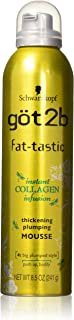 got2b fat-tastic Instant Collagen Infusion Mousse 8.50 oz (Pack of 2)