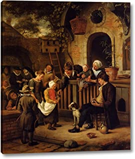 The Little Alms Collector by Jan Steen - 12