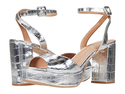 Chinese Laundry Theresa (Silver Patent Croco) High Heels