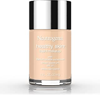Neutrogena Healthy Skin Liquid Makeup Foundation, Broad Spectrum Spf 20, 60 Natural Beige, 1 Oz.
