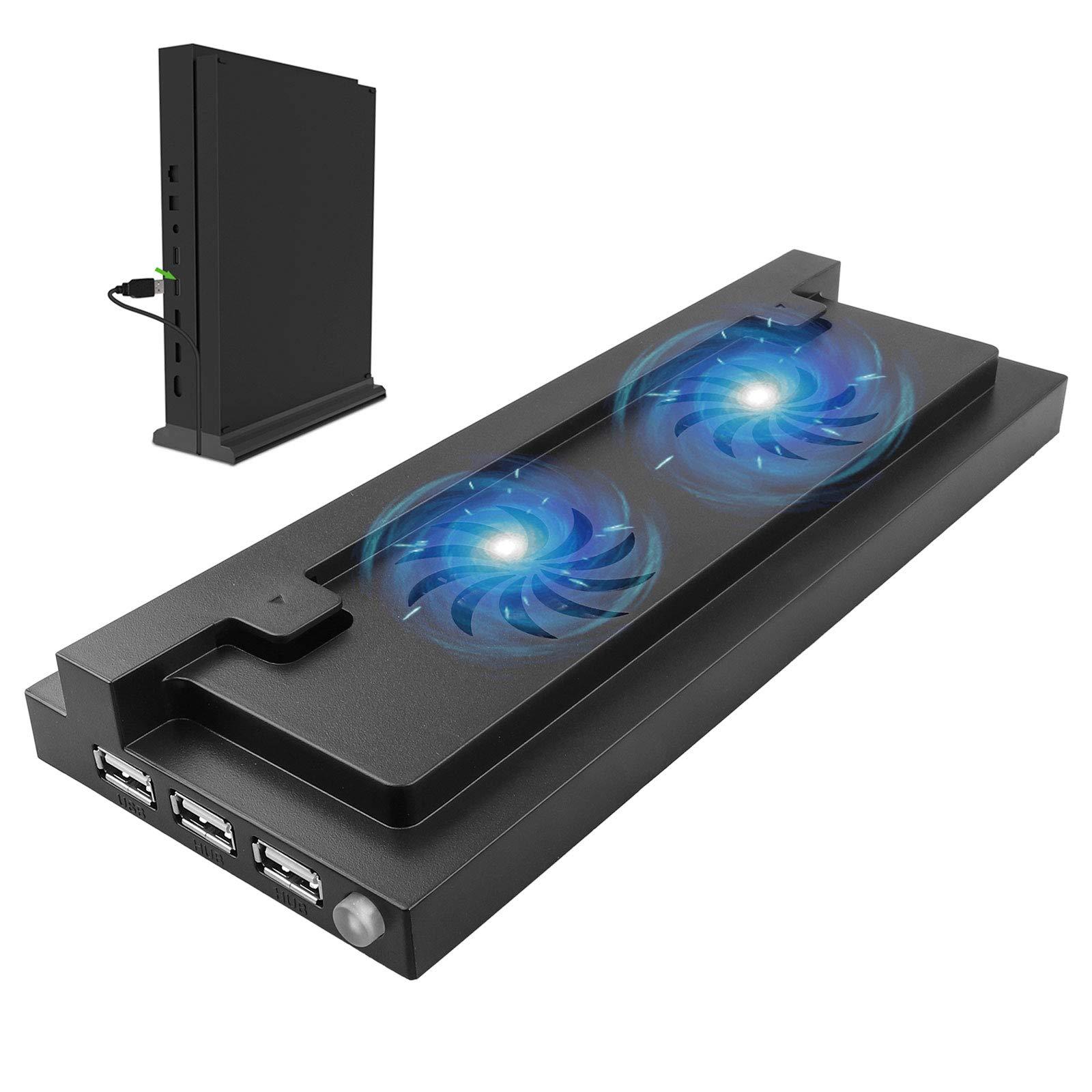 EEEKit USB Dual Cooling Fan Cooler Soporte Vertical Puerto USB Externo para la Consola de Xbox One S Protección contra sobrecalentamiento para Juegos: Amazon.es: Electrónica