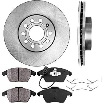 Reliance *OE REPLACEMENT* Brake Rotors *Plus Ceramic Pads C1958 FRONT+REAR KIT