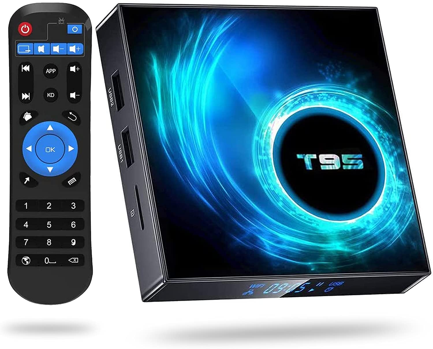 Android 10.0 TV Boxes T95 Allwinner Box Free shipping anywhere in the nation Tucson Mall Quad-Core H616
