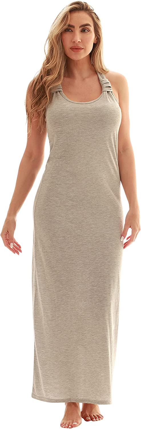 Just Love Racer Back Houston Mall Solid Tank with Bungee Dress Limited time sale