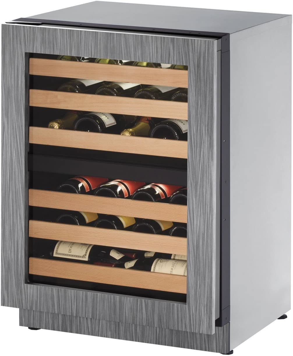 U-Line U2224ZWCINT01A Built-in Wine Storage Stee Discount mail order 24