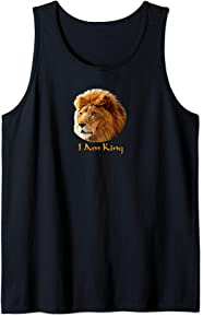 I Am King Tank Top