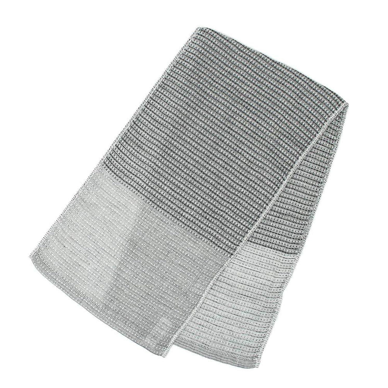 時カラス赤字今治産 伊織のボディタオル 25×95cm (備長炭)