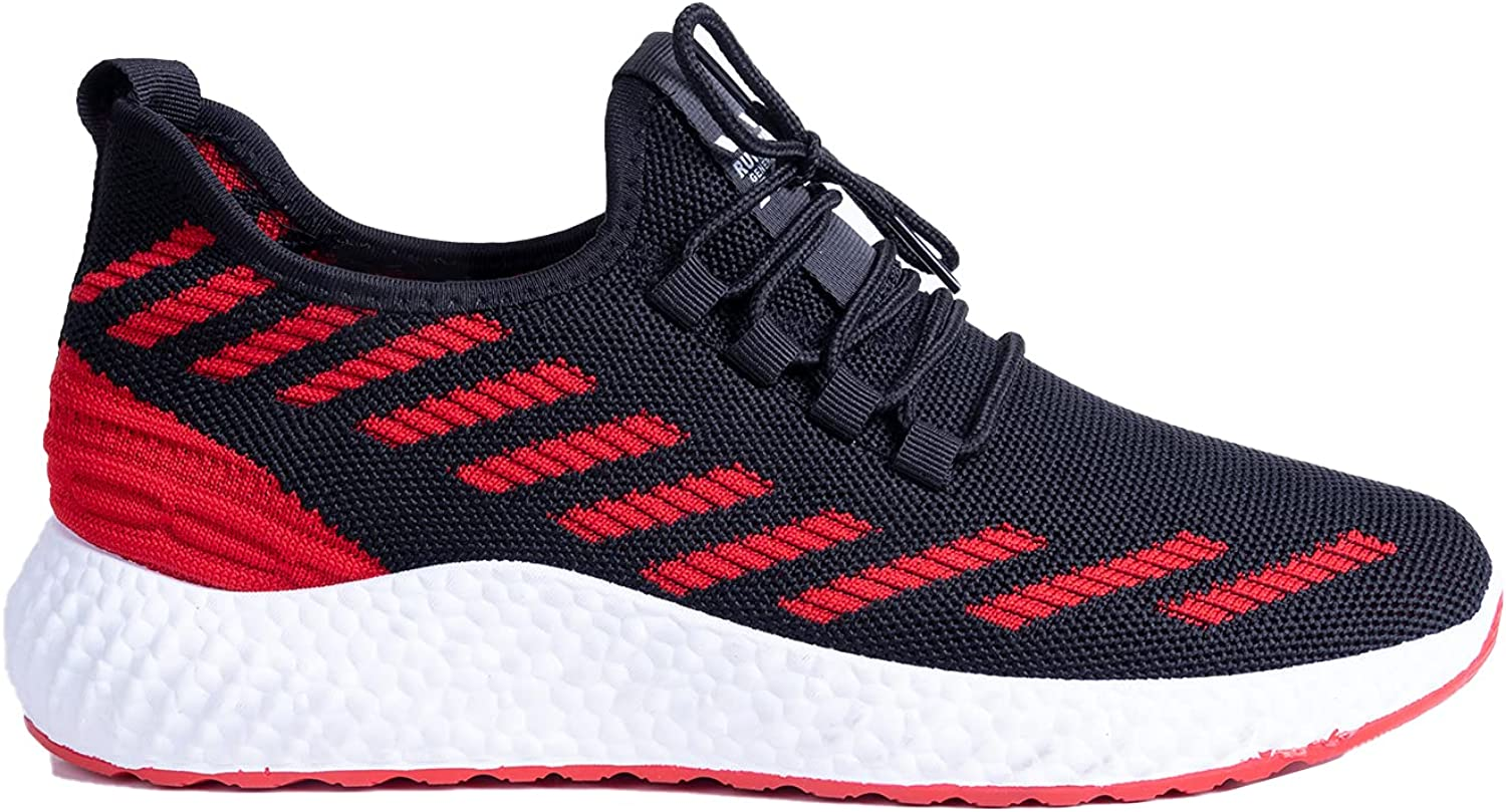 RUNNERZ GENERATION - 1903 Black Red US Men's Today's only Size Shoes Finally resale start Running