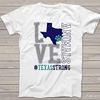 hurricane harvey fundraiser t shirts