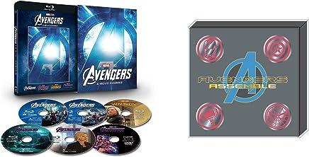 【Amazon.co.jp限定】アベンジャーズ:4ムービー・アッセンブル [ブルーレイ+DVD+デジタルコピー+MovieNEXワールド](オリジナルピンバッチセット付き) [Blu-ray]