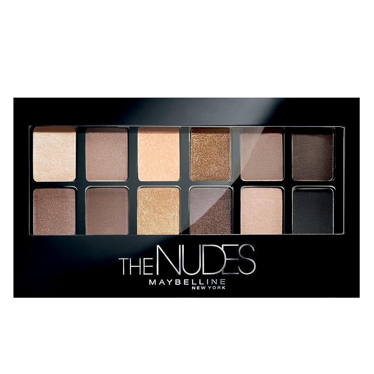 栄養メイト埋め込むMAYBELLINE The Nudes Palette In The Nudes - 12 Shades (並行輸入品)