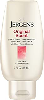 Jergens Original Scent Dry Skin Moisturizer with Cherry Almond Essence, 3 Ounces