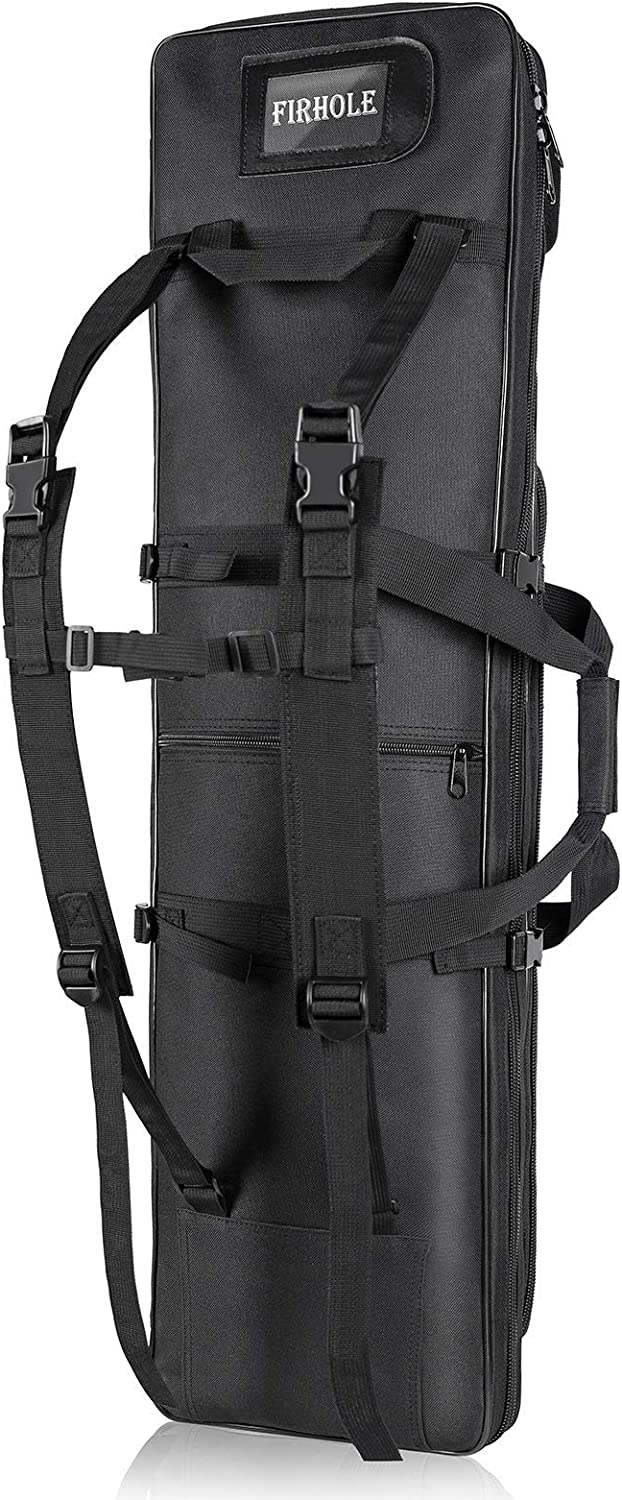 FIRHOLE Rifle Genuine Backpack Soft Bag and Sturdy Max 84% OFF for rang Decent
