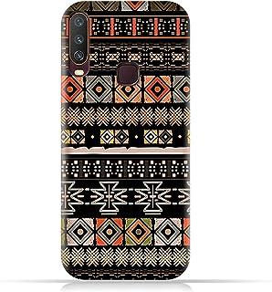 AMC DesignVivo Y12 TPU Silicone Case with Ethnic Boho Pattern
