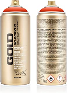 Montana Cans 284298 Spray Oro, gld400, 2090, 400 ml, red Nar