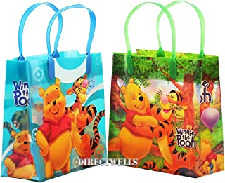 Winnie the Pooh Disney Authentic Licensed Party Favor 12 Reusable Goodie Medium Gift Bags 8