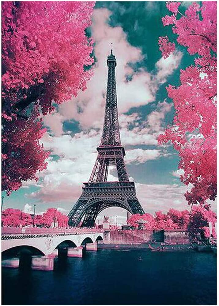Best Gift DIY 70% OFF Outlet 5D Diamond Painting Ranking TOP12 Kits Number by Tower Fu Eiffel