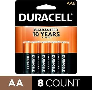 Duracell Coppertop AA Batteries, Alkaline, 8 Pack