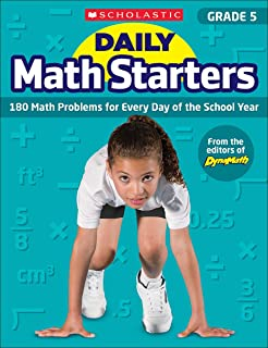 Daily Math Starters: Grade 5: 180 Math Problems for Every Day of the School Year