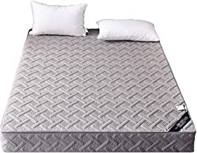 Bedding Fitted Bed Cover with Zipper Quilted Mattress Pad Cover Easy to Remove Dehumidification Skin Friendly Brushed Fabr...