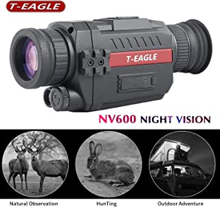 T-EAGLE Night Vision Monocular,8X35 HD Digital Infrared Camera Scope with 1.5 inch TFT LCD Take Photos and Video Playback ...