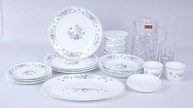 Arcopal 38Pcs Dinnerware Set   With 1Pc Oval Plate+ 6PCs Dinner Plate+ 6PC Rice Plate+ 6pcs Dessert Plate+ 1Pc Big Bowl+ 6...