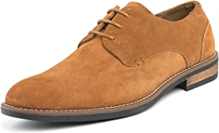 Bruno Marc Men's Urban Suede Leather Lace Up Oxfords Shoes