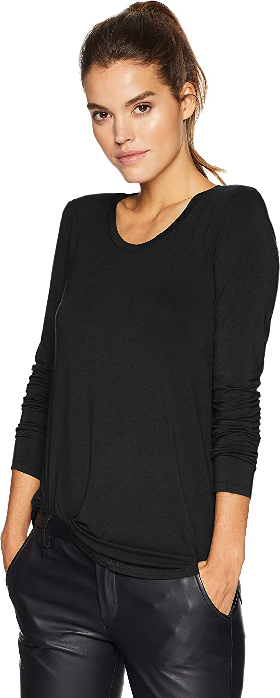 Amazon Brand - Daily Ritual Women's Jersey Long-Sleeve Scoop-Neck Swing Tunic