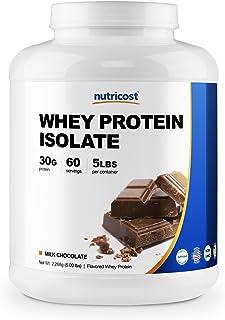 Nutricost ホエイ プロテイン アイソレート(ミルクチョコレート味)5LB (2.27kg)