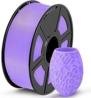 Sponsored Ad – PLA Filament 1.75mm, 3D Printer Filament Dimensional Accuracy /- 0.02 mm, 1KG (Purple)