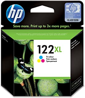 HP 122XL Tri-color (Cyan, Megenta, Yellow) Original Ink Cartridge CH564EE