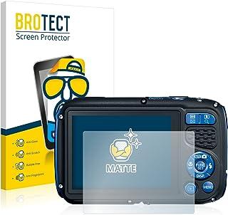 BROTECT Protector Pantalla Anti-Reflejos Compatible con Canon PowerShot D30 (2 Unidades) Pelicula Mate Anti-Huellas