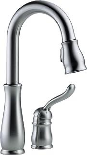 Delta Faucet 9978-AR-DST Leland Single Handle Bar/Prep Faucet, Arctic Stainless,6.69 x 15.00 x 6.69 inches