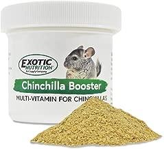 Exotic Nutrition Chinchilla Booster (2 oz.) - Complete Multivitamin - Powdered Vitamin & Mineral Supplement for Pet Chinchillas