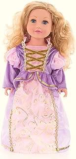 Little Adventures Classic Rapunzel Princess Doll Dress
