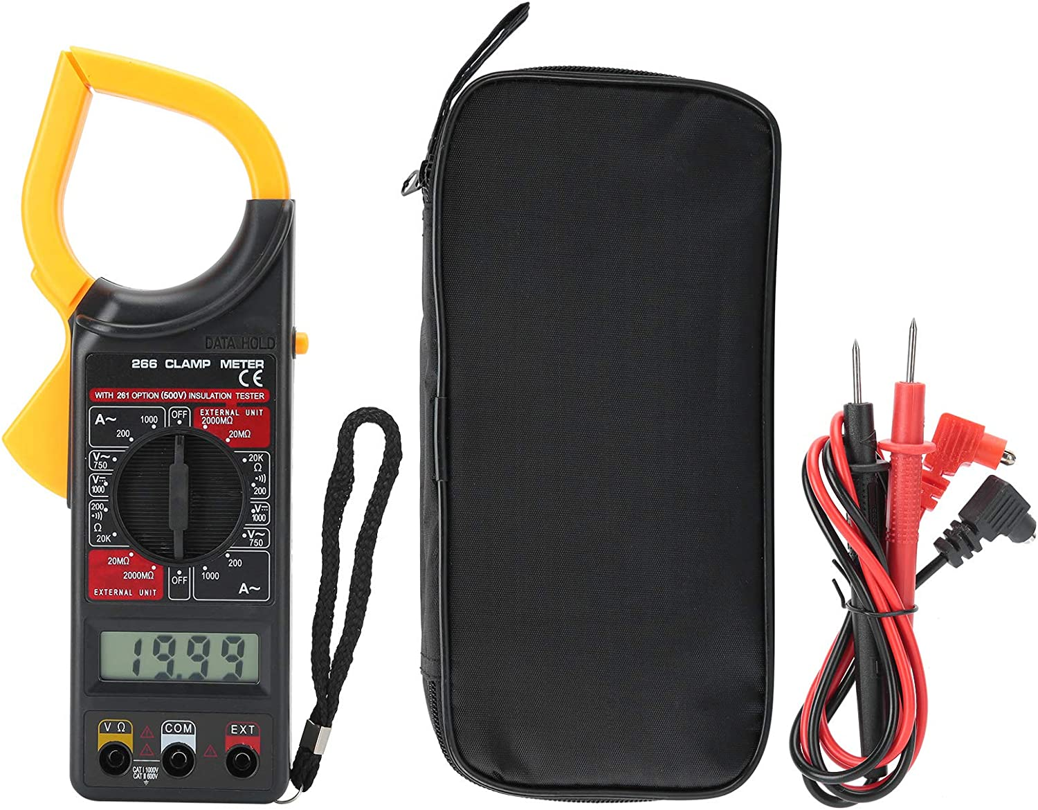 Clamp Meter Great Workmanship Digital Lc outlet Electronic Multimeter Popular product