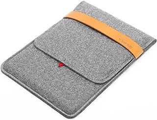 Tablet Sleeve Case, Felt Case Bag Cover Compatible with IPad/IPad Air/IPad Air 2 / IPad Pro (9.7/10.5/11 Inches), Fire HD 10, Galaxy Tab A2, E-Reader, E-Book, Grey